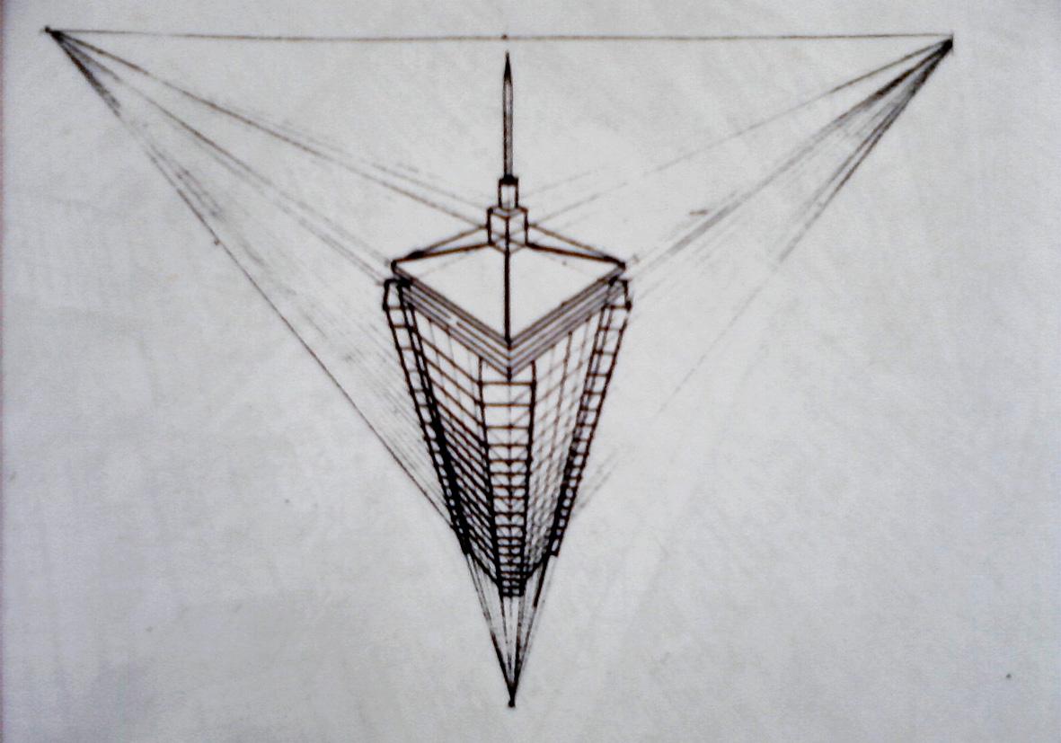 Prinsip Menggambar Bentuk Perspektif | ~ Faza Khilyala